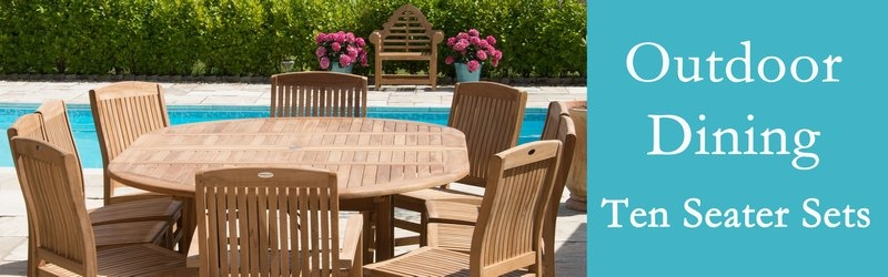 Ten Seater Garden Furniture Sets