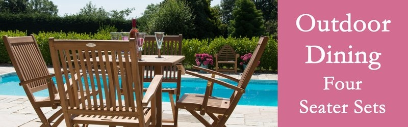 Four Seater Garden Furniture Sets