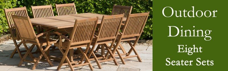 Eight Seater Garden Furniture Sets