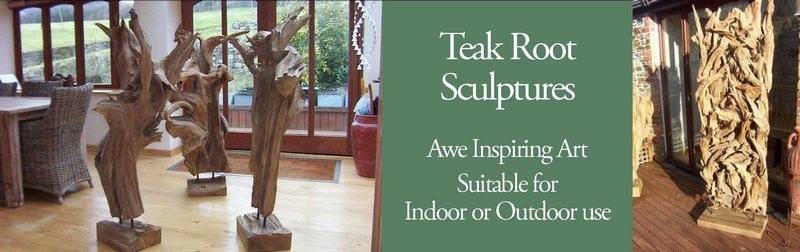 Teak Root Sculptures