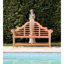 Lutyens Seat - Teak Garden Bench