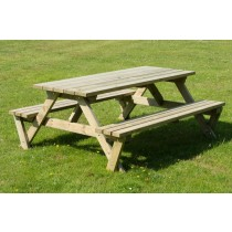 Heavy Duty A Frame Picnic Table