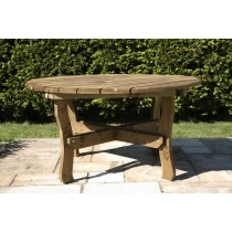 Round Woodland Garden Table