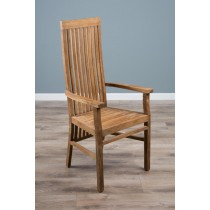 Reclaimed Teak Vikka Carver Chair