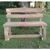 Childrens' Swedish Redwood Buddy Bench