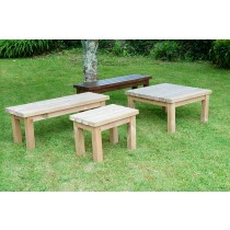 Swedish Redwood Garden Coffee Table - 4 Sizes