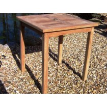 Teak Garden Square Bistro Table