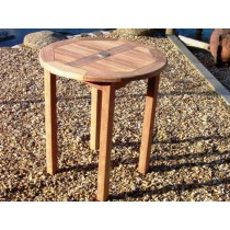 Teak Garden Circular Bistro Table