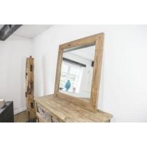 Reclaimed Teak Square Mirror