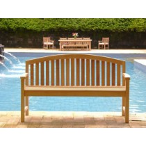 Teak Garden Bench - Contemporary
