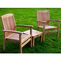 Teak Marley Armchair and Coffee Table Set