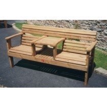 Woodland Integrated Garden Seat