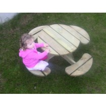 Childrens' Circular Picnic Bench