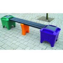 Recycled Modular Seating Single