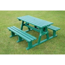 Recycled Plastic Picnic Bench