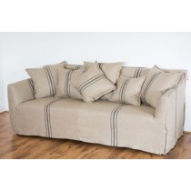 French Style Beaumont Stripe Sofa