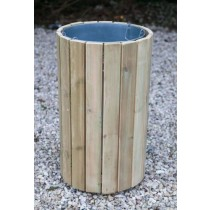 Swedish Redwood Litter Bin
