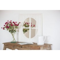 Aviron Wood Window Mirror