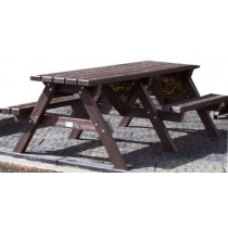 Disabled Access Recycled Plastic Picnic Bench