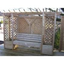 Garden Arbour Seat