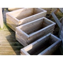 Swedish Redwood Rectangular Planters