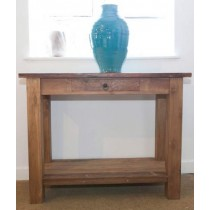 Reclaimed Teak 1m Console/Hall Table