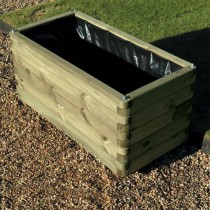 Swedish Redwood Elite Planter