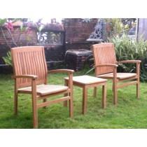 Teak 2 Seater Luxury Coffee Table set