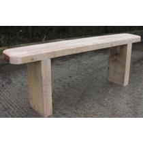 Oak Backless Woodland Bench