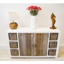 Reclaimed Pine Coastal Dresser