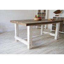 Reclaimed Pine Coastal Dining Table