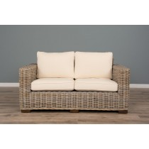 Natural Wicker 2 or 3 Seater Java Sofa