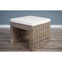 Natural Wicker Zara Foot Stool