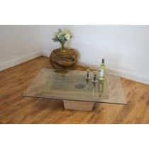 Teak Ancient Lumpang Coffee Table Rectangular