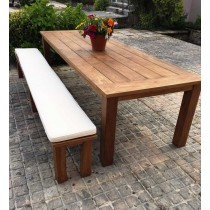 Outdoor Backless Bench Cushion