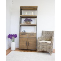 Industrial Chic Aldiron Bookcase