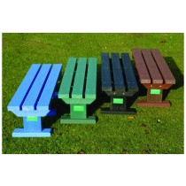 Recycled Plastic Junior Bench