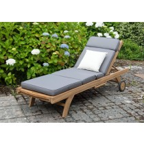 Luxury Richmond Sun Lounger with Free Cushion and Scatter Cushion