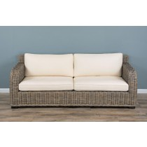 Natural Wicker 2 or 3 Seater Manga sofa