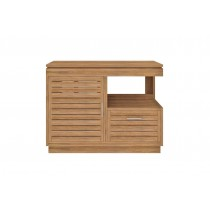 Oasis Teak Washstand with Cupboard and Drawer - 105cm X 80cm