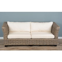 Natural Wicker 2 or 3 Seater Oriza Sofa