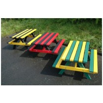 Recycled Plastic Junior Picnic Bench