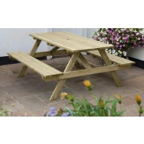 All Weather Commercial A-Frame Picnic Table