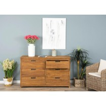 Reclaimed Teak Modern Chest of Drawers