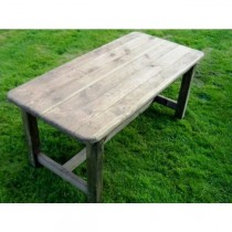 Rectangular Woodland garden Table