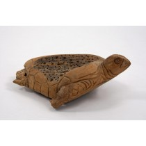 Reclaimed Teak Root Turtle Sculpture