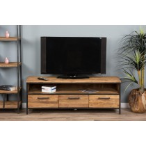 Urban Fusion Three Drawer TV Unit