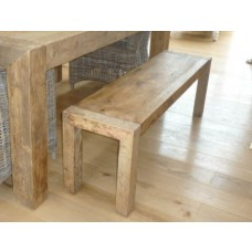 Reclaimed Elm Chunky Style 1.8m Luxury Dining bench