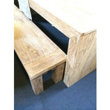 Reclaimed Teak Taplok Bench 2.4m