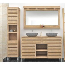 Diva Washstand with Cupboards, Drawer and Shelves - 105cm X 80cm